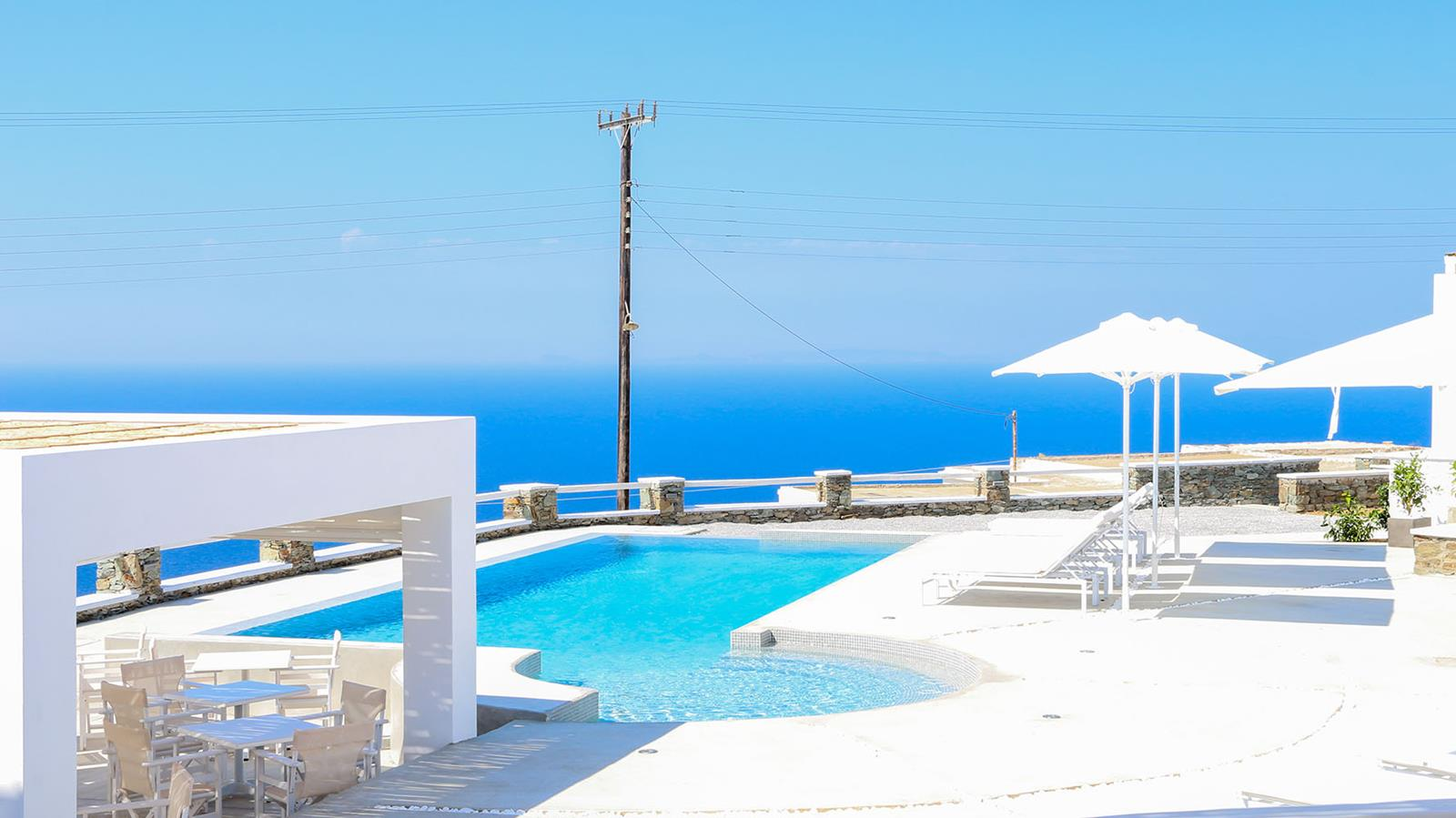 villa in folegandros | Lemon Tree Houses